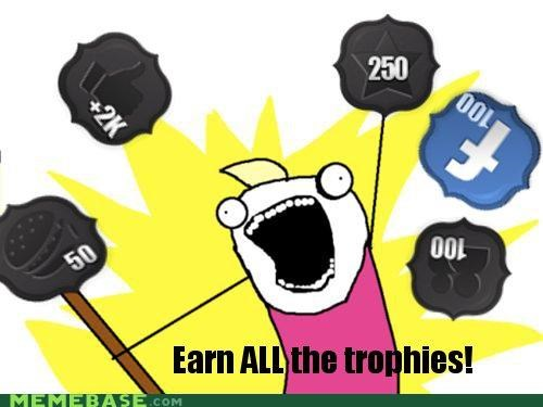 all the things,cheezburger,collectibles,memebase,trophies