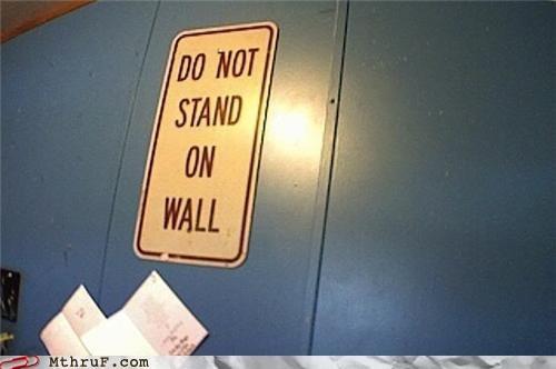 ninja,sign,standing,wall