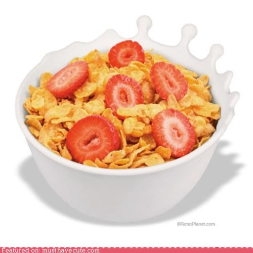 bowl cereal drop milk splash white - 5042698496