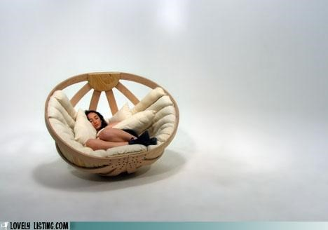 bed,chair,furniture,pod,rocker