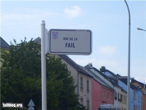 failboat france g rated road sign street name - 5042723584