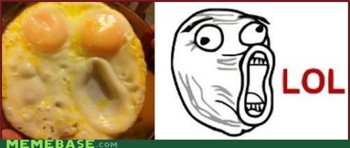 eggs,face,IRL,lol,Memes,scrambled