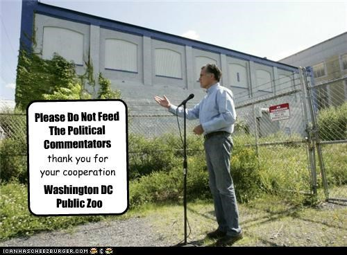 do not feed,Mitt Romney,political pictures,politicians,Pundit Kitchen,washington dc,zoo