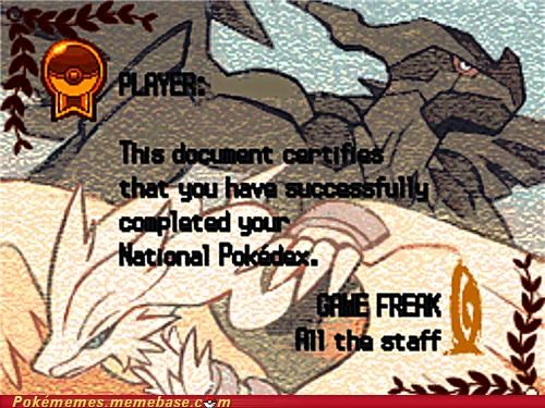 beat congrats gameplay graduation national pokedex - 5042839296