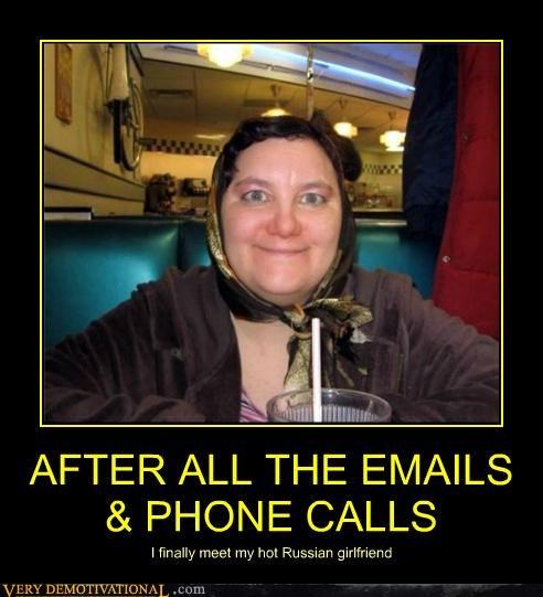 bride girlfriend hilarious mail order russia - 5043343616