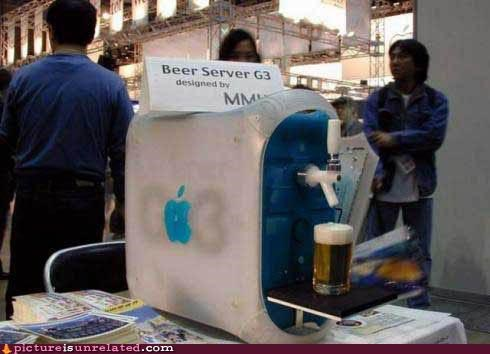 apple beer computer wtf