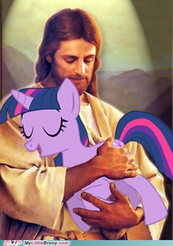 jesus,pet,twilight sparkle