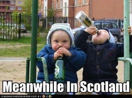 alcohol,Babies,drinking,kids,scotland