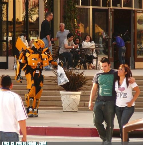 Bumblebee costume shopping transformers wtf