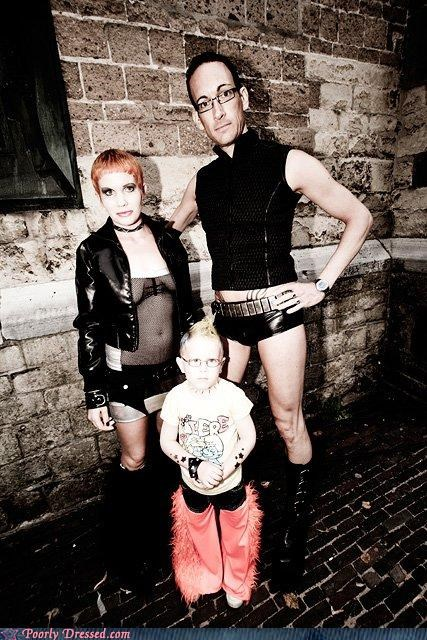 chaps leather parenting punk
