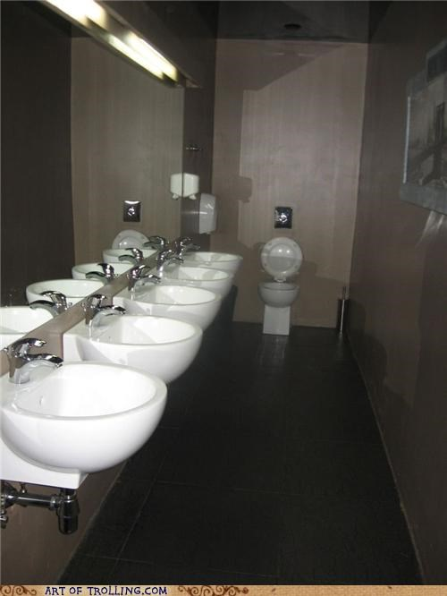 bathroom IRL pee shy peetimes toilet - 5045474048