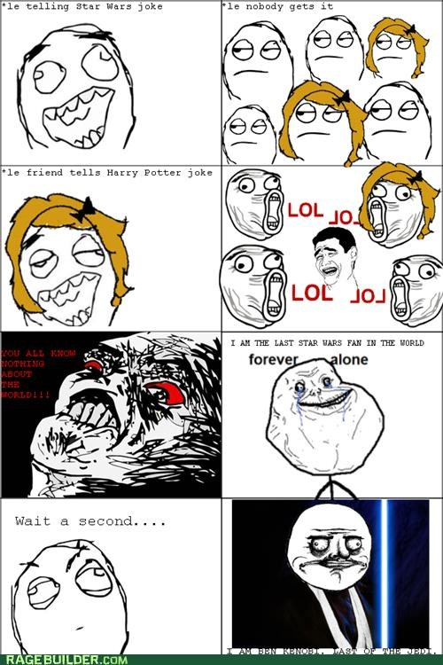 Harry Potter,jokes,Rage Comics,references,star wars