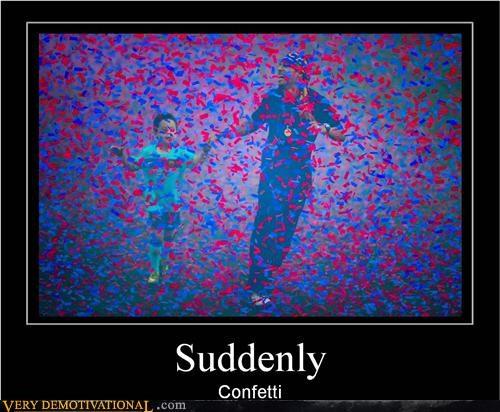 confetti hilarious suddenly wtf - 5045705472