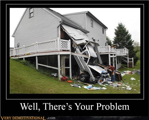 accident car hilarious house problem - 5045717760