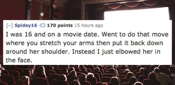 10 Ridiculous Ways People Failed To NOT Screw Up Their Dates