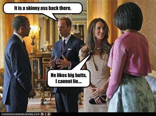 British funny-captions-barack-obama kate middleton Michelle Obama politicians president prince william Pundit Kitchen royalty - 5046050816
