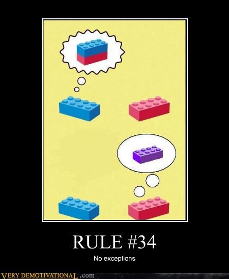 hilarious lego no exceptions Rule 34