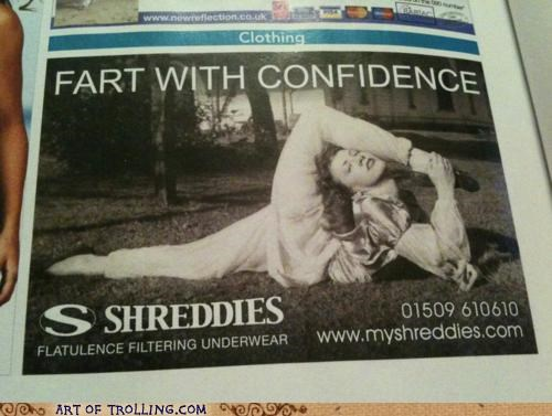 fart IRL pants shreddies - 5046517760