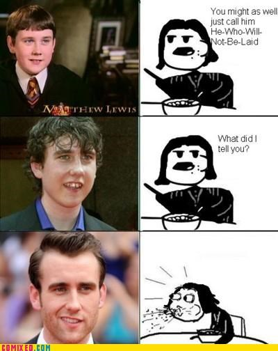 Harry Potter laid Matthew Lewis neville longbottom - 5046557440