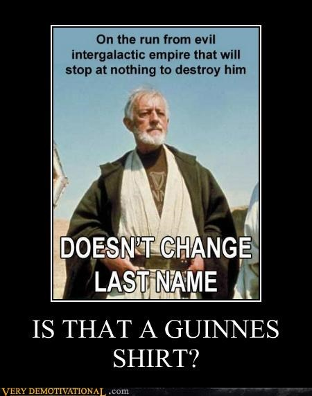 guinness hilarious obi-wan kenobi star wars