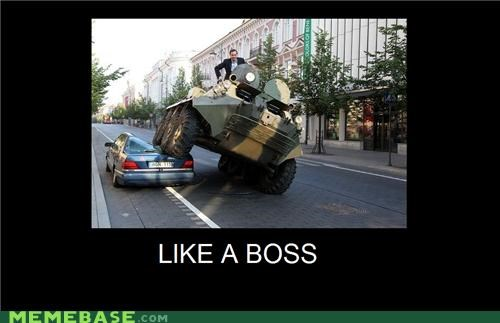boss car hilarious parked - 5046726144