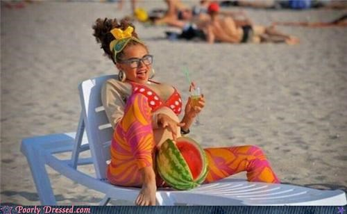 beach spandex watermelon - 5046955008