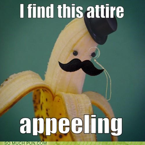 appealing banana double meaning fancy Hall of Fame homophone homophones literalism monocle o-you-fancy-huh peeling - 5047039232