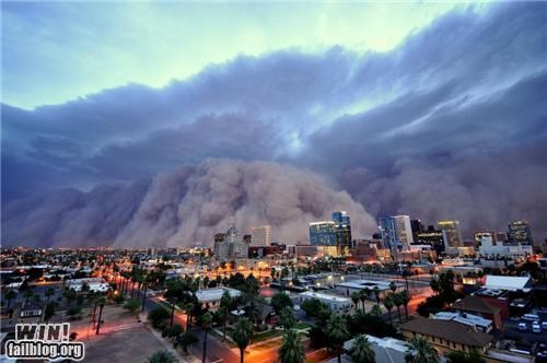 Damn Nature U Scary Dust Storm mother nature ftw