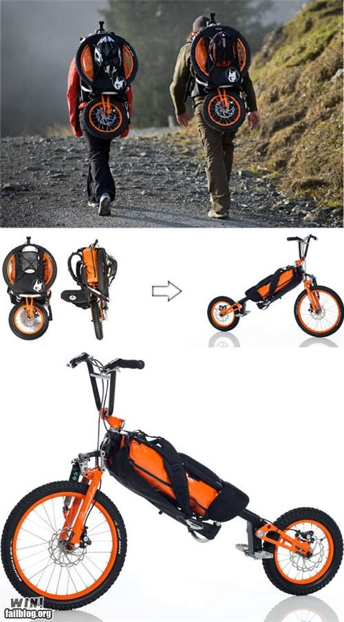 backpack bike Hiking pokemon irl