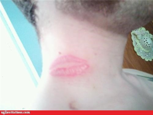 ugliest tattoos hickey bad tattoos of horrible fail situations