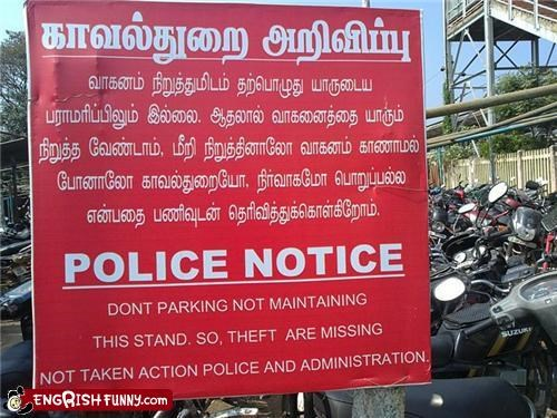meanwhile in thailand motorcycle sign theft