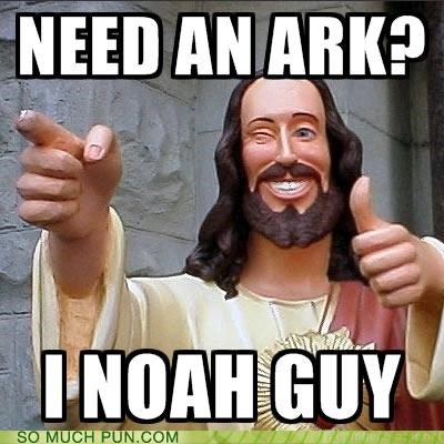 ä,ark,bible,biblical,canon,double meaning,guy,Hall of Fame,homophones,know,literalism,need,noah