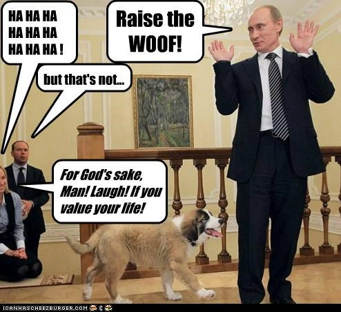 dogs political pictures Vladimir Putin vladurday - 5047512576
