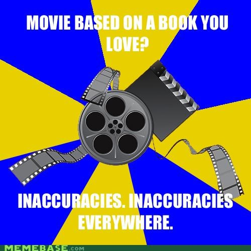 books inaccuracies love magic Memes movies