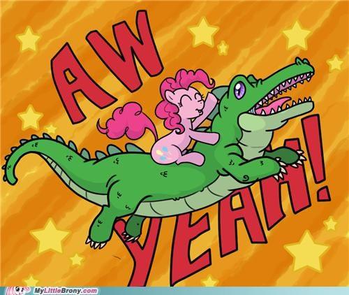 aww yeah gummy pinkie pie ride - 5047910144