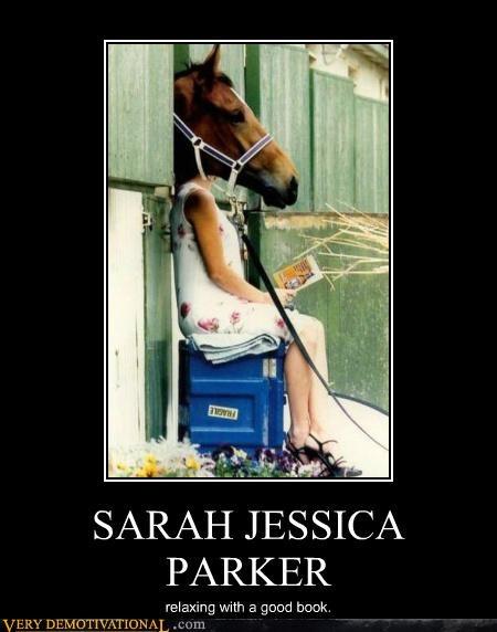 book hilarious horse sarah jessica parker - 5048560128