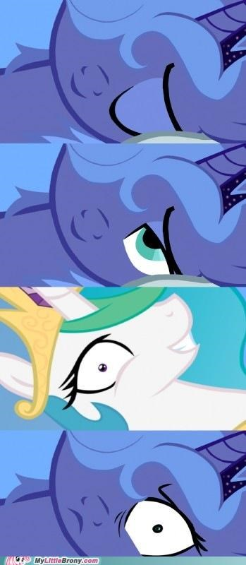 luna nightmare moon princess celestia sleep - 5048858112