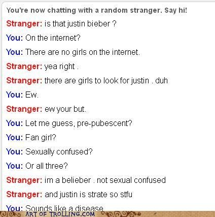 disease,girls,internet,justin bieber,Omegle