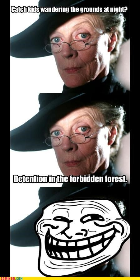 centaur,forbidden forest,Harry Potter,professor mcgonagall