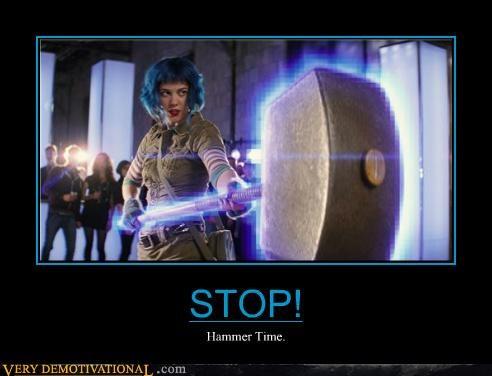 hammer time hilarious ramona scott pilgrim - 5049192704