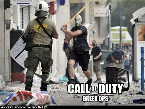 greece political pictures riots video games - 5049281792