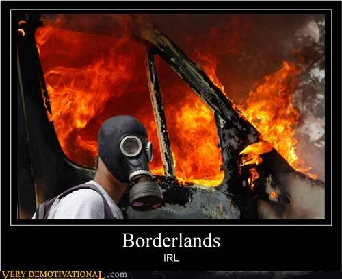 boarderlands hilarious IRL riot video games - 5049609472