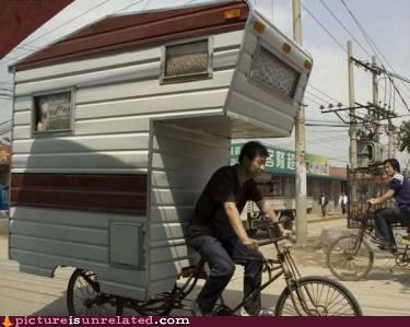 bike home rv wtf