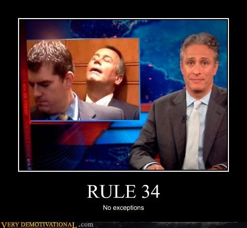 hilarious,no exceptions jon stewart,Rule 34