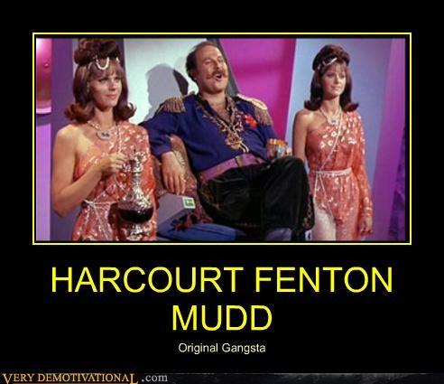 gangsta harcourt fenton mudd hilarious Star Trek