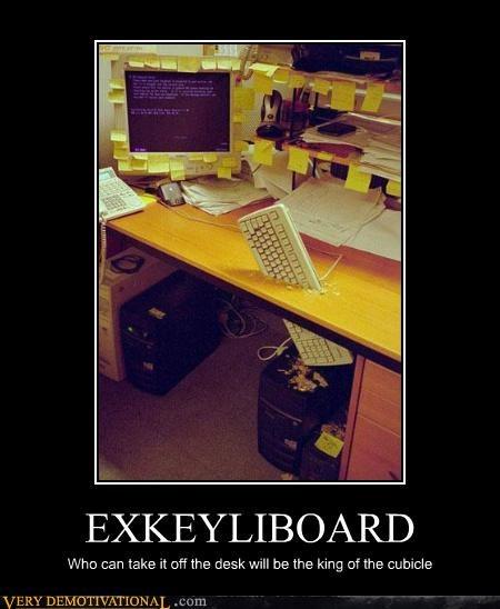 desk excalibur hilarious keyboard king - 5050126592