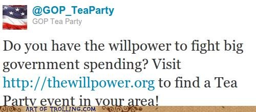 GOP shock sites tea party the willpower twitter - 5050128896