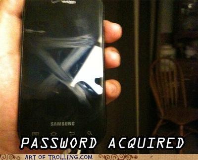 gross IRL lock password phone smartphone - 5050157056