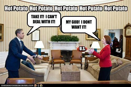 barack obama Julia Gillard political pictures - 5050166528