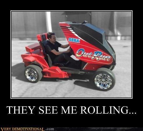 car hilarious out run rolling sega video games - 5050201088